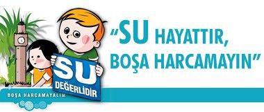 su ile ilgili slogan