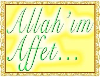 affet allahim